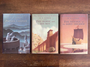 Prince Caspian, The Horse and His Boy, The Voyage of the Dawn Treader, by C.S. Lewis