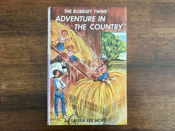 The Bobbsey Twins' Adventure in the Country by Laura Lee Hope, Vintage 1961, Hardcover Book, Illustrated