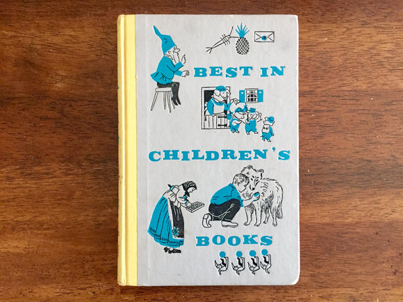 Best in Children's Books, 10th in Series, Vintage 1958, Hardcover, Illustrated