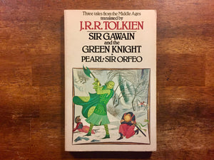 Sir Gawain and the Green Knight, Pearl, Sir Orfeo, by J.R.R. Tolkien, Vintage 1975