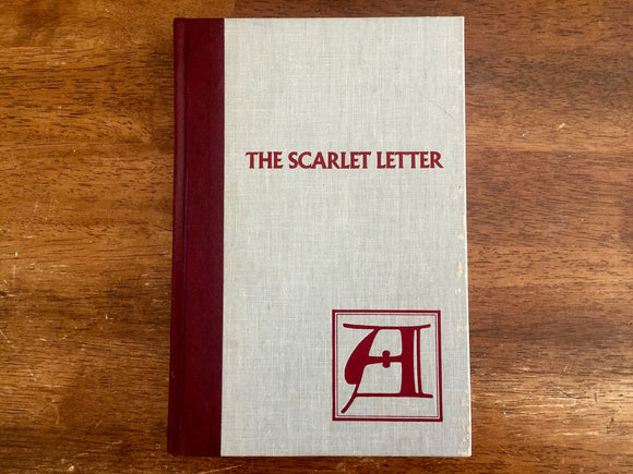 The Scarlet Letter by Nathaniel Hawthorne, Illustrated by Robert Quackenbush, Hardcover Book, Vintage 1984