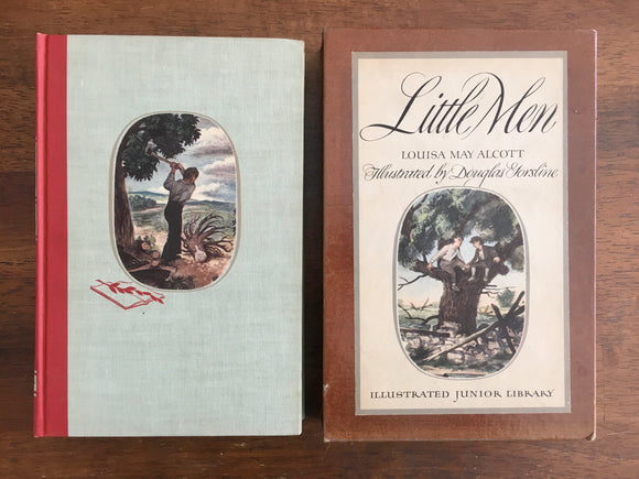 Little Men by Louisa May Alcott, Illustrated Junior Library, Vintage 1947