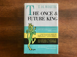 The Once and Future King by T.H. White, Vintage 1958, Hardcover Book with Dust Jacket