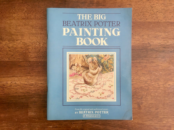 The Beatrix Potter Painting Book, Vintage 1988, Coloring Activity