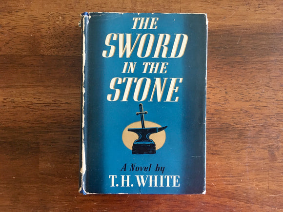 The Sword in the Stone by T.H. White, Vintage 1939, 1st U.S. Edition, 1st Printing