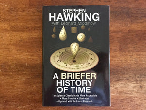 A Briefer History of Time by Stephen Hawking, Hardcover Book with Dust Jacket