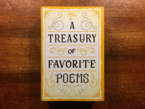 A Treasury of Favorite Poems, Hardcover with Dust Jacket