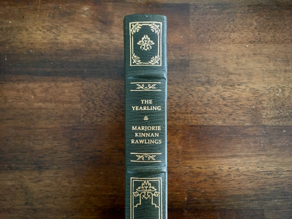 The Yearling, Marjorie Kinnan Rawlings, Franklin Library, HC, Vintage 1983