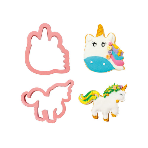 Unicorn Cutters Set- Decora