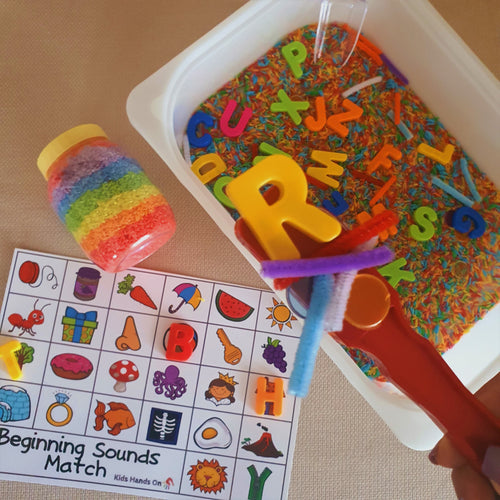 Alphabet Magnet Box
