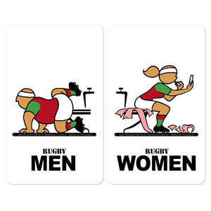 Sticker - WC Men/Women - Pays Basque