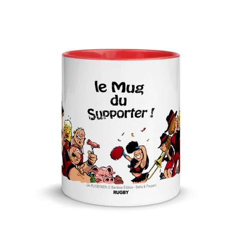 Le Mug du Supporter - Noir/Rouge