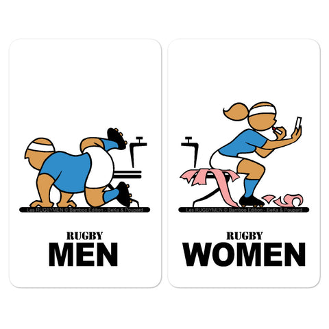 Sticker - WC Men/Women - Italia