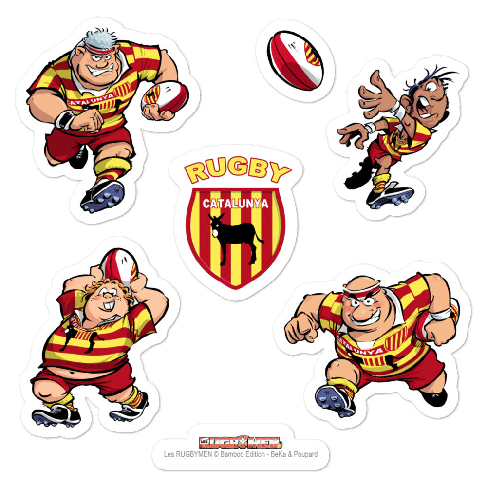 Stickers - Rugbymen 1 - Pays Catalan