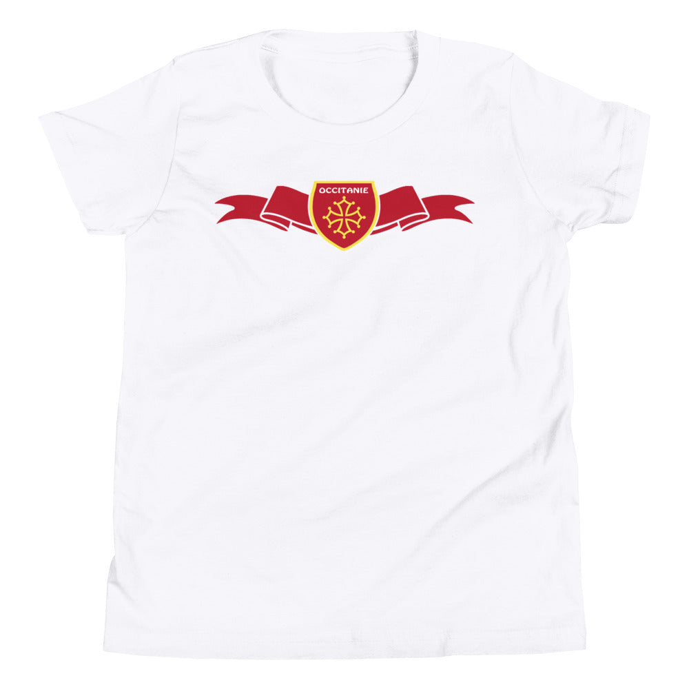 T-Shirt ENFANTS - Ruban/Écusson - Occitanie