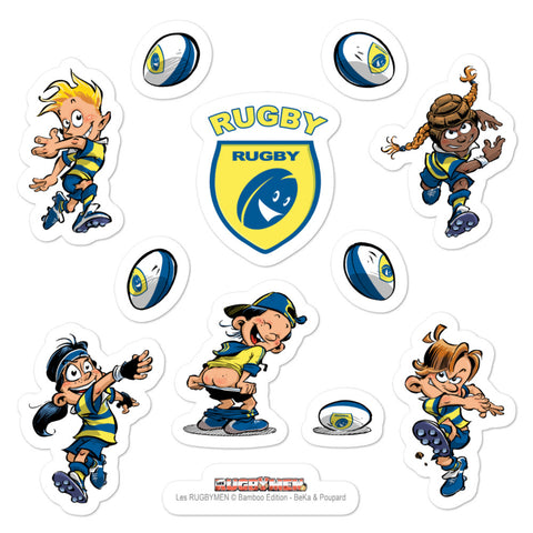 Stickers - Kids - Jaune/Bleu