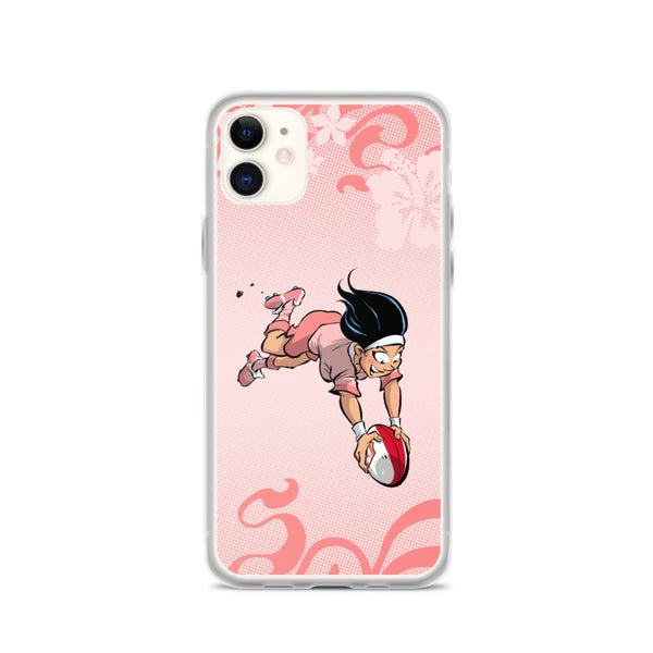 Coque iPhone - Babyliss - I Love Rugby
