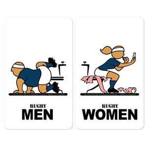 Sticker - WC Men/Women - Scotland