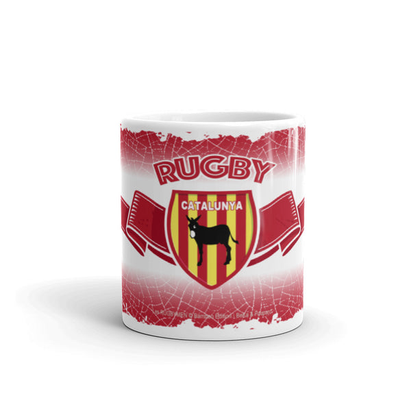 MUG Ruban/Écusson - Pays Catalan