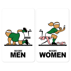 Sticker - WC Men/Women - Ireland
