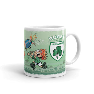 Mug Rugby Family-Ireland (Children)