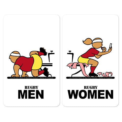 Sticker - WC Men/Women - Occitanie