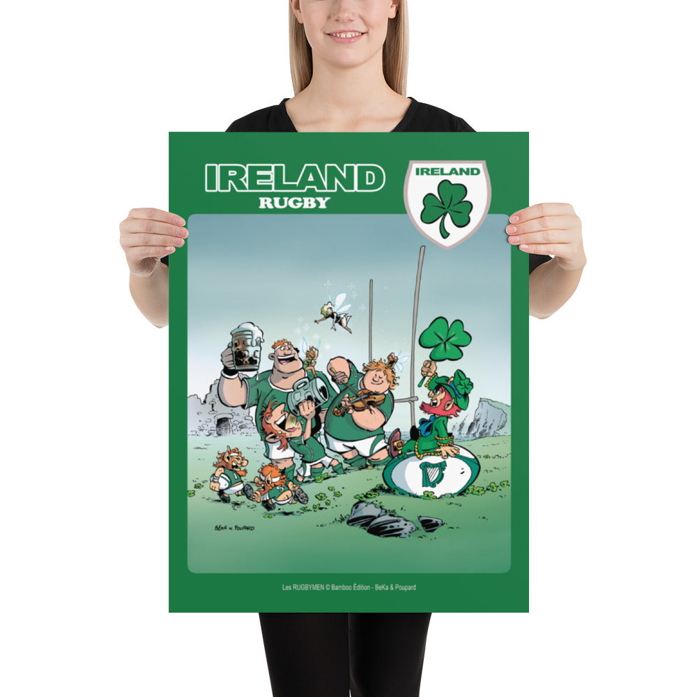 Poster - Ireland Rugby