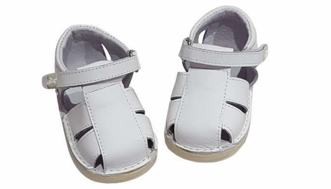 Boys leather sandals