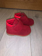 Load image into Gallery viewer, Suede red boots
