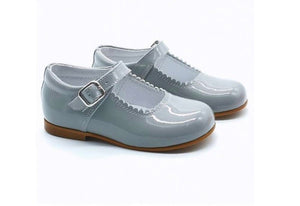MARY JANES IN PATENT LEATHER GREY COCOBOXI