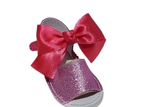 Girls bow sandals