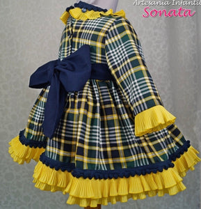 Yellow and Navy Sonata
