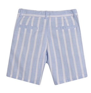Older boys blue short set