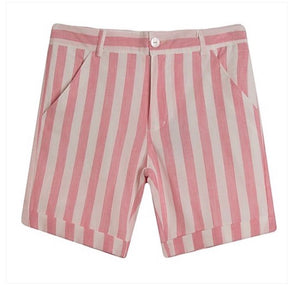 Older boys Pink short set