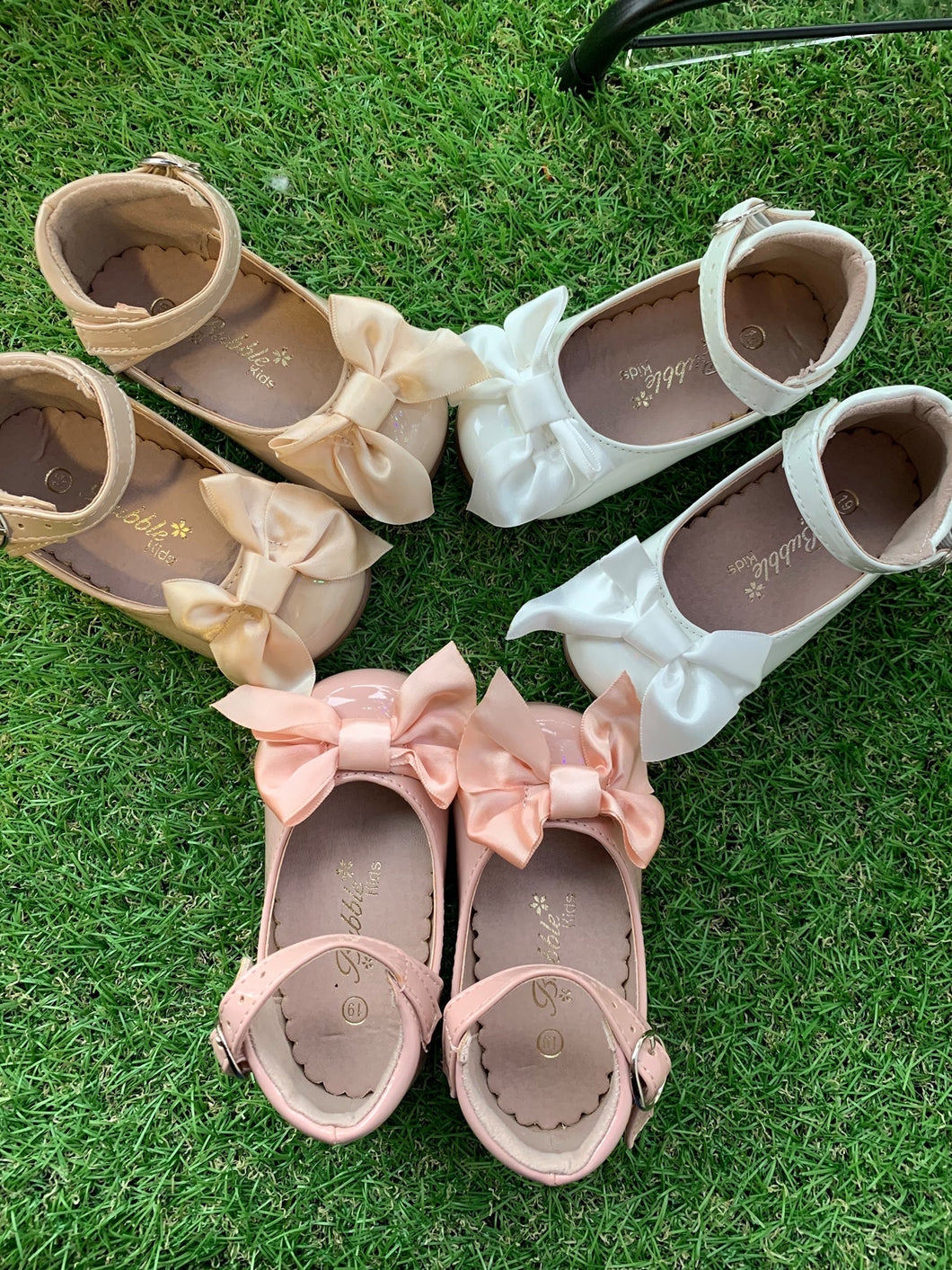 Baby girls bow shoes