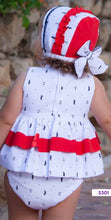 Load image into Gallery viewer, Baby girls sailor dress