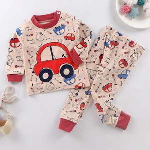 Vehicle Pattern Pajamas