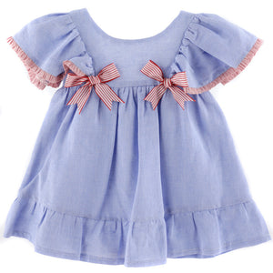 Double bow dress