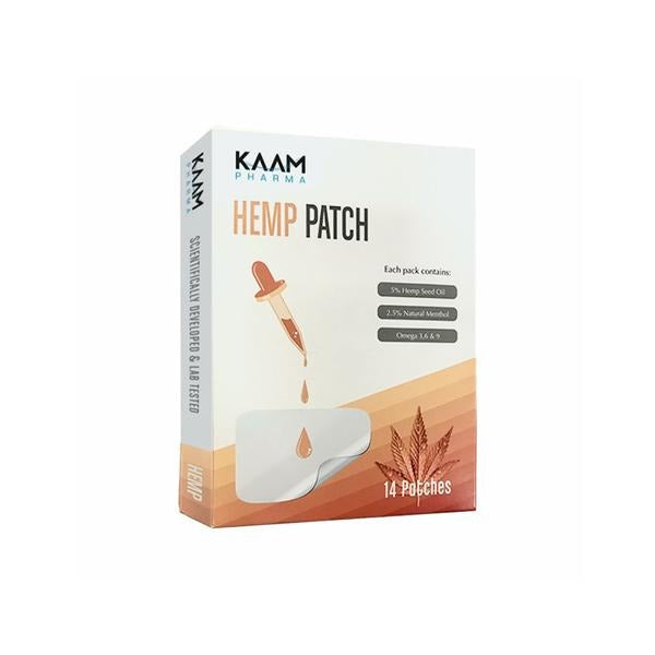 Kaam Pharma 5% Hemp Patches - 14 Pack - Natural Euphoria