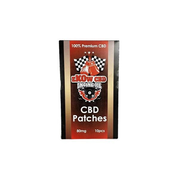 Ekow CBD Patches 80MG 10PCS - Natural Euphoria