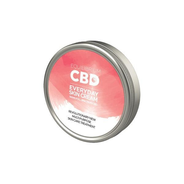 Equilibrium CBD Everyday Skin Cream 100mg 100ml - Natural Euphoria