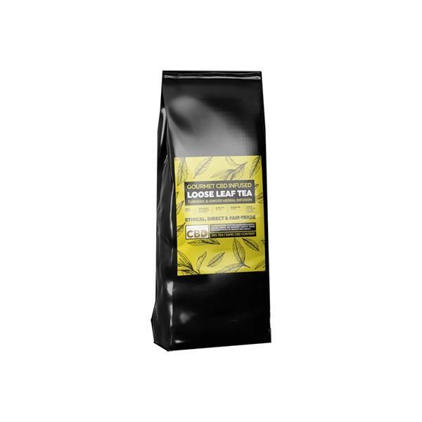 Equilibrium CBD Gourmet Loose Leaf Tea 28g 56mg CBD - Ginger & Turmeric - Natural Euphoria