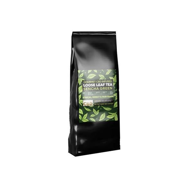 Equilibrium CBD Gourmet Loose Leaf Tea 28g 56mg CBD - Sencha Green - Natural Euphoria