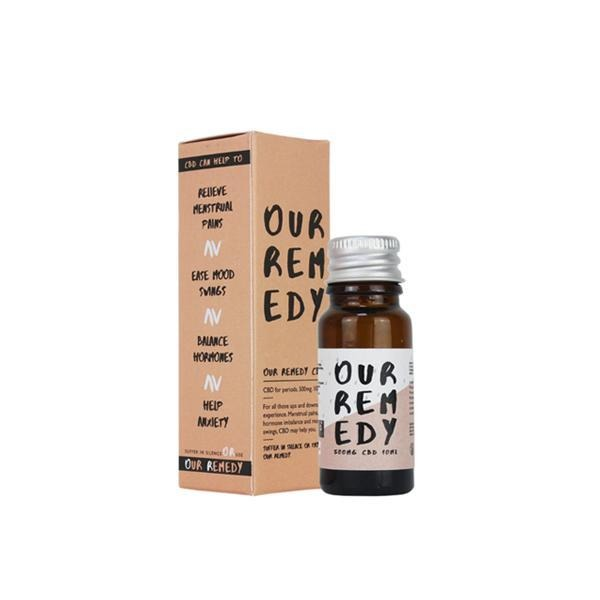 Our Remedy 500mg Natural CBD Oil 10ml - Natural Euphoria