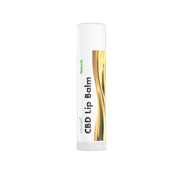 LVWell CBD 50mg CBD Lip Balm - Natural Euphoria