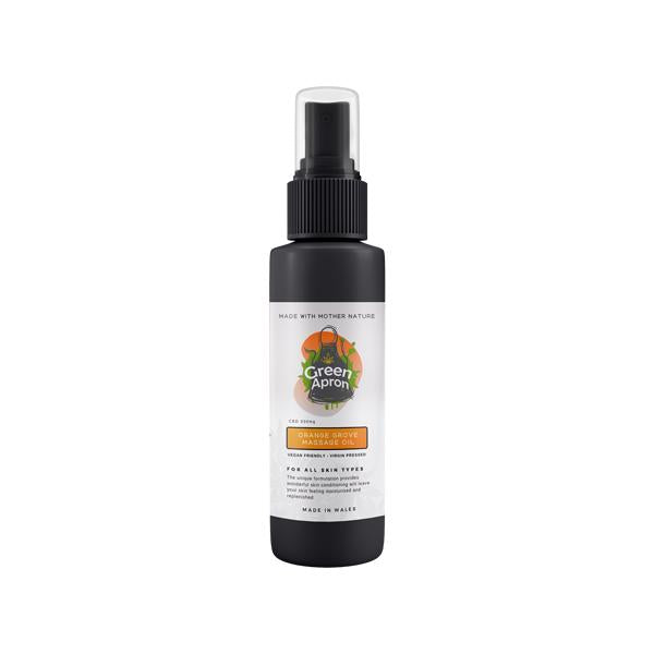 Green Apron 500mg CBD Orange Grove Massage Oil 250ml