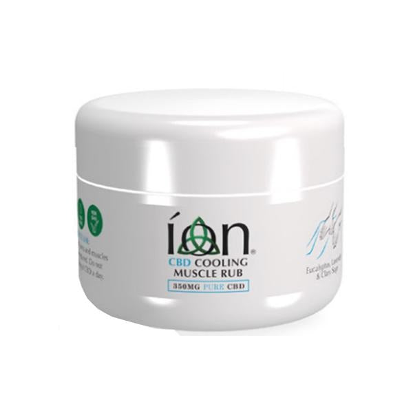 ION Pure CBD Musle Rub 350mg CBD 75ml - Cooling Rub - Natural Euphoria