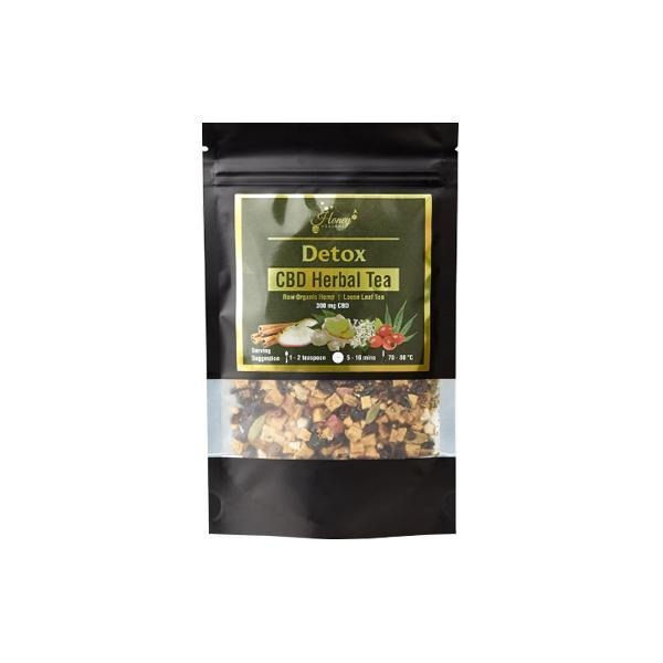 Honey Heaven 300mg CBD Loose Leaf Herbal Tea 50g - Detox - Natural Euphoria