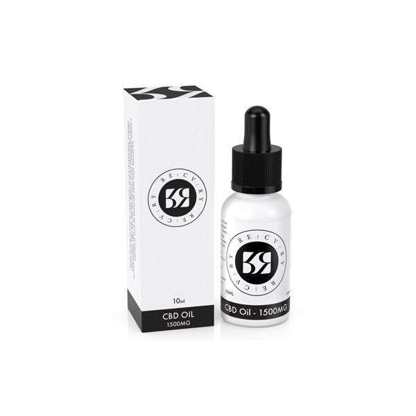 RE:CV:RY 500mg CBD Broad Spectrum Oil 10ml - Natural Euphoria