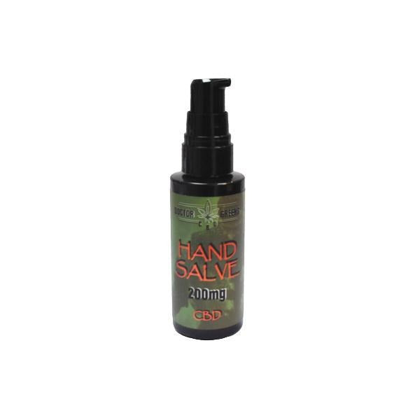 Doctor Green's 200mg CBD Hand Salve 50ml - Natural Euphoria
